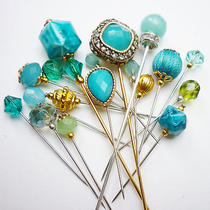 18 Turquoise Hue - Hijab Pin / Decorative Pin  Photo