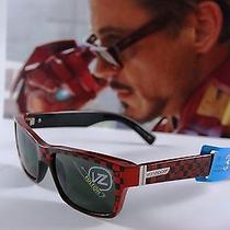 180 Hollywood Iron Man Von Zipper Sunglasses High Quality 100% Original Photo
