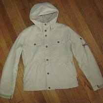 180 Nwt Burton Women's Ski Snowboard Hooded Jacket Khaki Canvas Sporty Chic Xs Photo