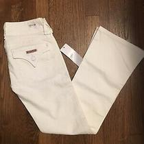 189 Nwt New Hudson Jeans White Denim Jeans Petite Size 25 Nordstrom Photo