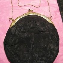 18k Cartier Antique Silk Evening Bag Photo