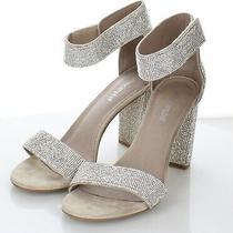 19-60  160 Women's Sz 8.5 M Jeffrey Campbell Lindsay Embellished Heel Sandal Photo