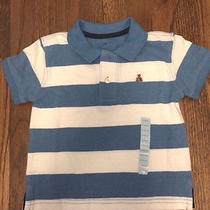19.95 Nwt Baby Gap Babygap Cute Stripe Polo Shirt Top Toddler 12-18 Months Photo