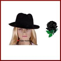 1920s Mob Mafia Chicago Gangster Fancy Dress Costume Hat - Osfm Photo