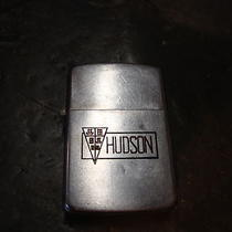 1947-51 Zippo Lighter Advertising Hudson Automobile Auto Car Daytona 500 Drags Photo