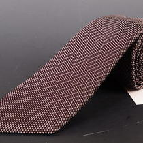 195 Dior Homme Brown Silk Satin Tie New Photo