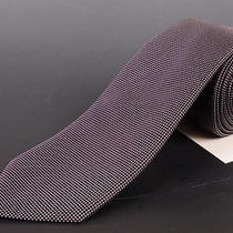 195 Dior Homme Deep Purple Silk Satin Tie New  Photo