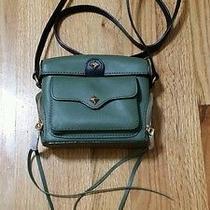 195 Rebecca Minkoff Craig Camera Crossbody Camera Leather Handbag New Photo