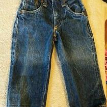 1950s Levis Levi Strauss Jeans 503zxx Size 0 Leather Tag Very Rare Photo