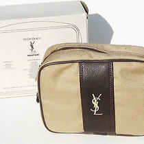 1970s Vintage Yves Saint Laurent Travel Tote Bag for Men in Original Box  Photo