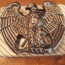 1982 Avon Majestic Eagle Belt Buckle Nice Brass New in Box Photo