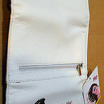 1985 - Audrey Hepburn's Breakfast at Tiffany's - White Wallet Plus Tote Bag Photo