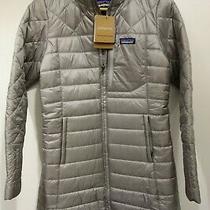 199 New w's Patagonia Grey Radalie Parka Jacket Sz Xs Extra Small Photo