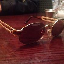 1990's Vintage Gianni Versace Sunglasses W25256 Photo