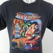 1997 Fantasy Fest Key West Tv Jeebies Vintage Men's Large T Shirt Florida Euc Photo