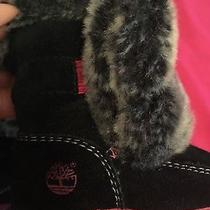 1c Infant Timberland Furry Boots  Photo