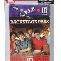 1d One Direction 1 D Backstage Pass Lanyard Necklace Zayn Harry Louis Niall Liam Photo
