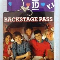 1d One Direction Backstage Pass Lanyard Necklace Photo