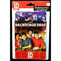 1d One Direction Music Boy Band Superfan Collector Backstage Pass Card Lanyard Photo