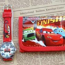 1x Disney Cartoon Fantasy Car Purses Wallets Watch Kids Children Gifts F295 Photo