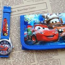 1x Disney Cartoon Fantasy Car Purses Wallets Watch Kids Children Gifts F294 Photo