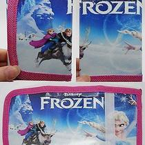 1x Disney Cartoon Fantasy Frozen Purses Wallets Children Kids Gift New  F597 Photo