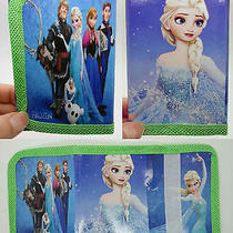 1x Disney Cartoon Fantasy Frozen Purses Wallets Children Kids Gift New  F598 Photo