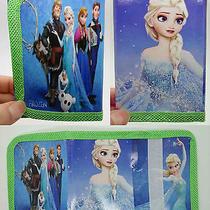 1x Disney Cartoon Fantasy Frozen Purses Wallets Children Kids Gift New  F598 Photo