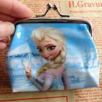 1x Disney Cartoon Fantasy Frozen Purses Wallets Coin Children Kids Gift New  F68 Photo
