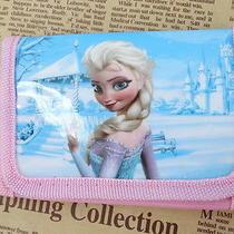 1x Pink Disney Cartoon Fantasy Frozen Purses Wallets Children Kids Gift New  F37 Photo