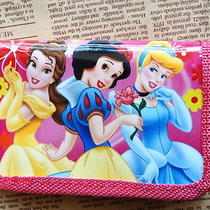 1x Pink Disney Cartoon Fantasy Frozen Purses Wallets Kids Gift New  F420 Photo