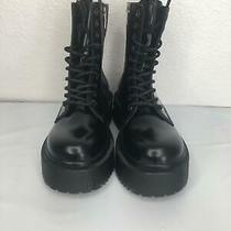 203 New Jeffrey Campbell Women's Sopas Lugged Platform Boot Size 6.5 Photo