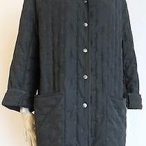 2500 Hermes Paris Made in France Tufted Embroidery Car Coat Eu 42 Us 10 Photo