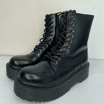 255 New Jeffrey Campbell Women's Sopas Lugged Platform Boot Size 7 Photo