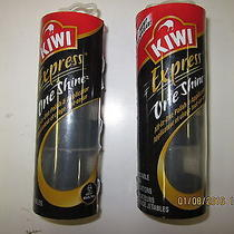 2 Brand New Packages of Kiwi Express One Shine Polish Applicators - 3 Per Pack Photo