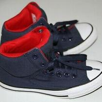 2 Converse Boy's Chuck Taylor All Star Street Canvas Mid Sneakers  Sz 3   Photo