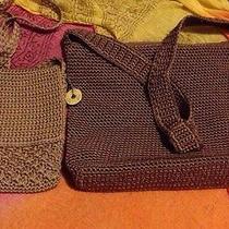 2 Crochet Bags by the Sak Photo