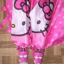 2 Hello Kitty Molded Handle Umbrella for Kids  Photo