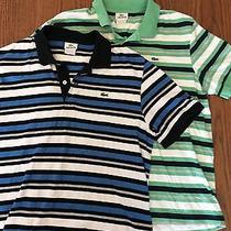 2 Lacoste Mens Polo Size 6 Mens Photo