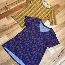 2 Lularoe Blouse Gigi & Christy T Print Classic-T Shirt Top Size L Nwt Photo