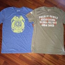 2 Men's Reebok Crossfit Wod Honor Pack & Graphic Tee T-Shirts Medium / M Photo