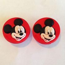 2 Mickey Mouse Shoe Charms Fits Crocs Jibbitz Mickey Mouse Charm Ships From Usa Photo