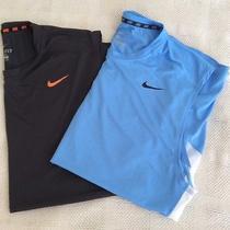 2 Nike Dri-Fit Men's Fitness Shirts Xxl Photo