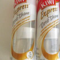2 Pack Kiwi Express One Shine White (3 Applicators Each in One Pack )  Photo