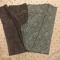 2 Pair - Pink Yoga by Victoria Secret X-Small & Small Grey - Blueish/green Aztec Photo