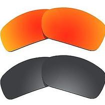 2 Pairs Bvanq Polarized Lenses Replacement S3 for-Oakley Scalpel Sunglasses  Photo