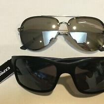 2 Pairs Express Sunglasses Unisex Men's or Women's 100% Uv Protection Photo