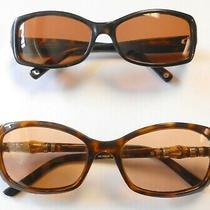 2 Pairs Tortoise Sunglasses Gucci Al2 Gg3194s Coach Chelsea S426 Womens Photo