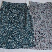 2 Pc Diane Von Furstenberg Skirts Sz 4 Photo