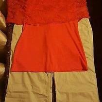 2 Pc. Women's Outfit Size 10/medium Shirt Is Nwt Express  Photo